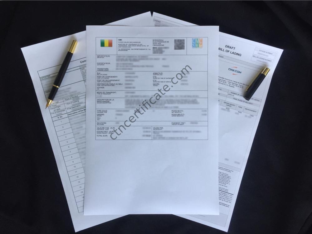 Mali BSC Certificate